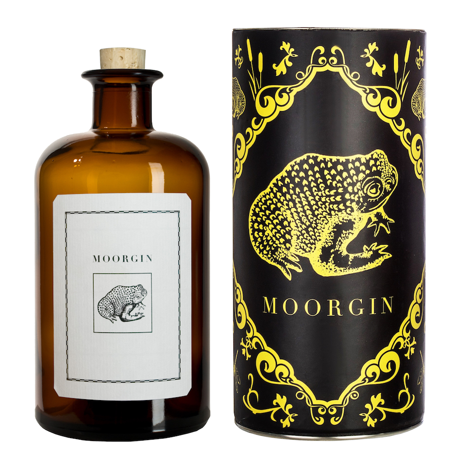 MOORGIN aus Kolbermoor Dry Gin mit Geschenkdose