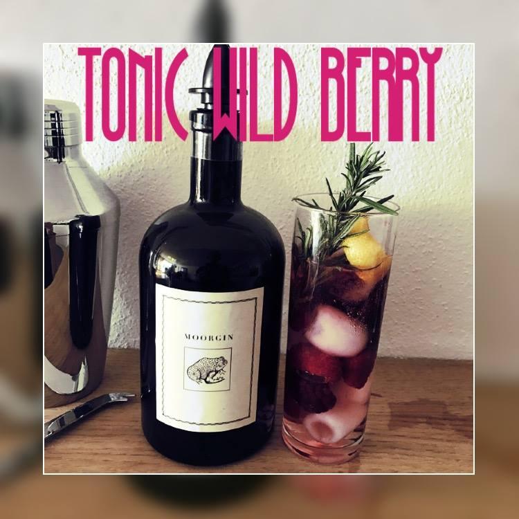 Cocktail Rezepte mit Gin - MOORGIN TONIC WILD BERRY Cocktail Rezept