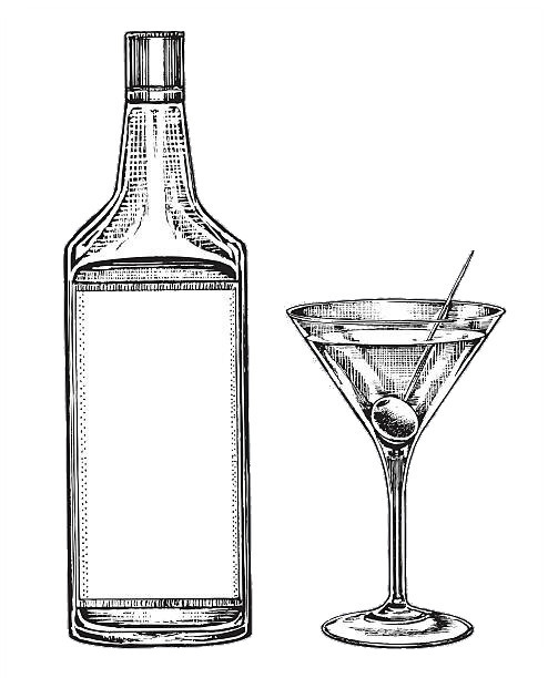 Gin zur Mitte des 18. Jahrhunderts